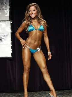 Courtney Prather at the 2011 IFBB North American Championships