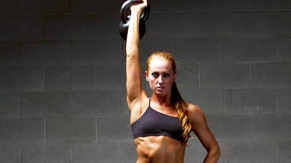 And no, you can't incorporate a kettlebell into your posing routine.
