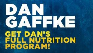 Dan's Nutrition Program
