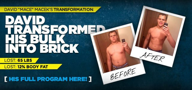 David Transformed His Bulk Into Brick