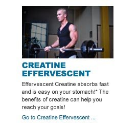 Effervescent Creatine absorbs fast  and is easy on your stomach!* The benefits of creatine can help you reach your goals!