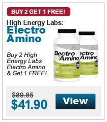 Buy 2 High Energy Labs  Electro Amino & Get 1 FREE!