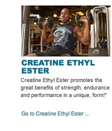 Creatine Ethyl Ester promotes the great benefits of strength, endurance and performance in a unique, form!*!