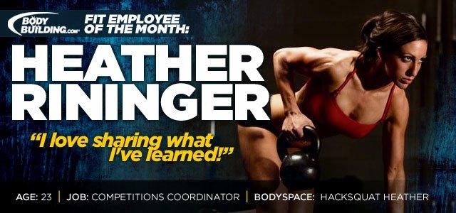 Fit Employee Spotlight - Heather Rininger!