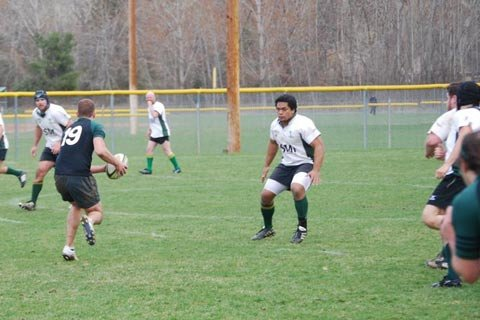 I've competed in Division II Men's Rugby for the past 4 years.
