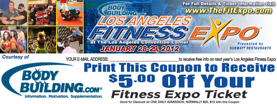 Discount coupons for bodybuilding com