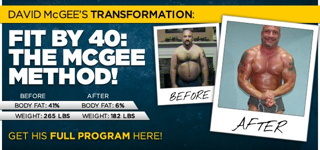 Getting Fit By 40: The David McGee Way