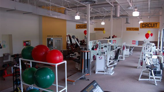 A large variety of equipment that is clearly labeled. Why aren't all gyms like this?