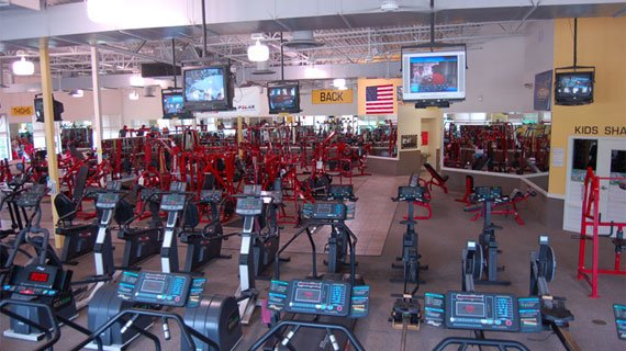 Everything in the gym cleaned daily. That's dedication right there.