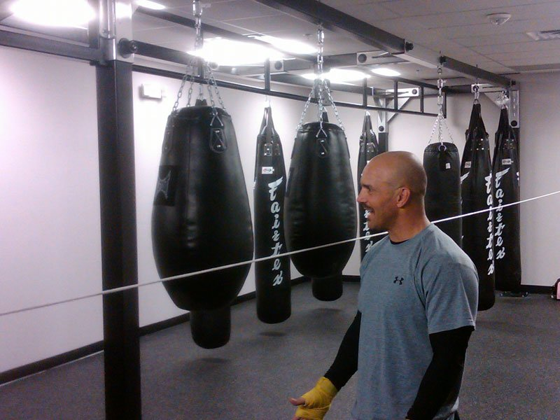 Whoa Powerhouse Even Has Punching Bags Out Of Sight Man
