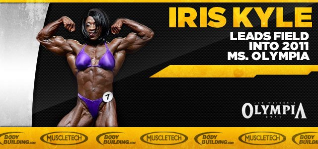 Iris Kyle Leads Field Into 2011 Ms. Olympia