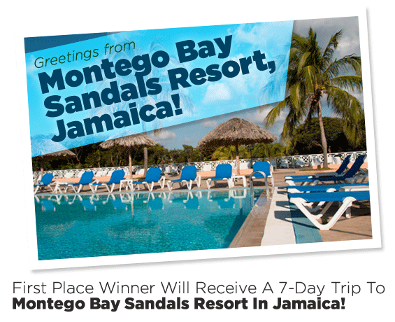 7-Day Trip to Montego Bay Sandals Resort in Jamaica!