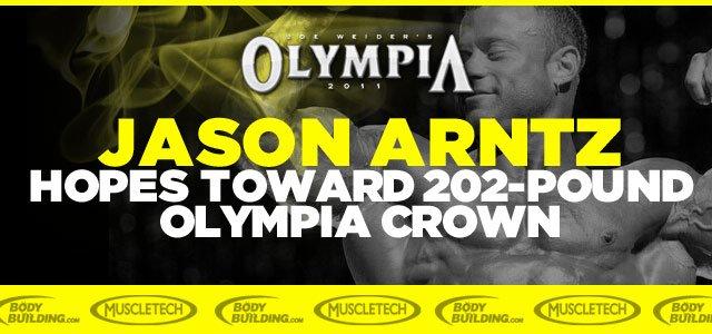 Jason Arntz Shoulders Hopes Toward 202-pound Olympia Crown