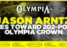 Jason Arntz Shoulders Hopes Toward 202-pound Olympia Crown