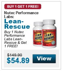 Buy 1 Nutec  Performance Labs Lean-Rescue & Get 1 FREE!