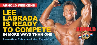 Lee Labrada Is Ready To Compete banner