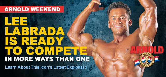 Lee Labrada Is Still Competing