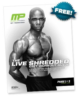 The Live Shredded Diet & Workout Guide - For Men