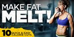 Easy Fat Loss Diet Tips - Substitute, Don't Sacrifice! Make Fat Flee With These 10 Quick Calorie Cuts
