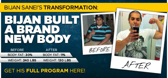 Body Transformation: Bijan Built A Brand New Body