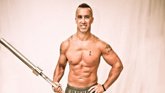 Those abs aren't just for show - from Marine to SWAT, Brandon has served his country