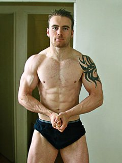David Cullen Shed Nearly 40 Pounds To Prepare For Competing!