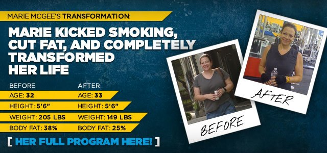 Mary Kicked Smoking, Cut Fat, and Completely Transformed Her Life
