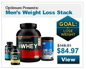 Optimum Presents: Men's Weight Loss Stack