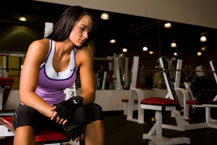 PMS can also limit your performance in the gym