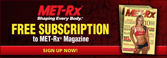 MET-Rx Magazine Sign-up