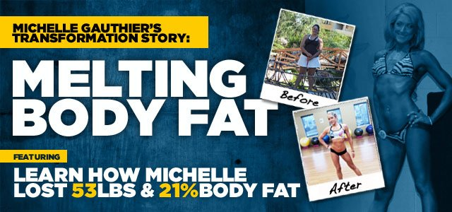Michelle Dropped The Ice Cream Habit And Built A Fit Body!