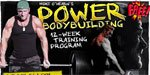 Mike O'Hearn's Power Bodybuilding 12 Week Training Program