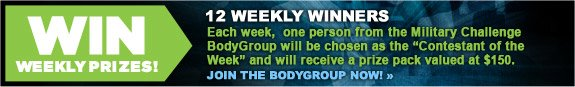 Win Weekly Prizes!