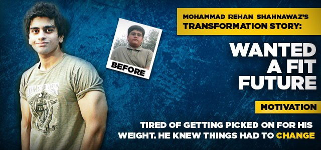 Mohammad Wanted A Fit Future
