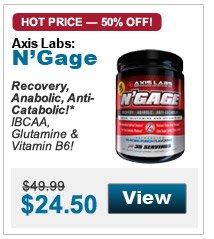 Recovery,  Anabolic, Anti-Catabolic!* IBCAA, Glutamine & Vitamin B6!