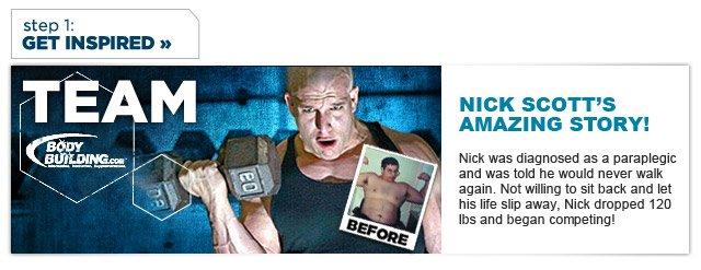 Nick Scott's Amazing Transformation Story