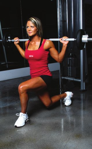 Athlete Workouts Inside The Gym Nicole Wilkins Glute Workout