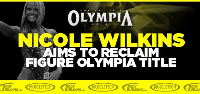 Nicole Wilkins Aims To Reclaim Figure Olympia Title