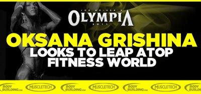 Oksana Grishina Looks To Leap Atop Fitness World banner