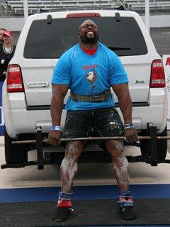 Strongman Inspired Deadlift Routine