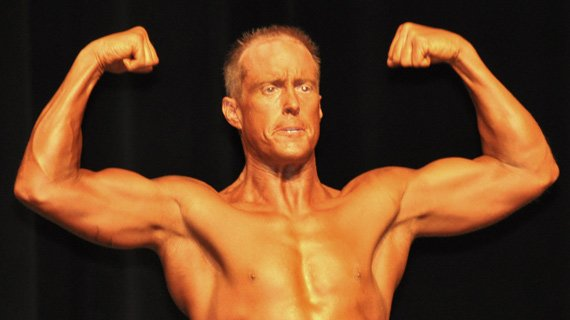 I walked on stage at the 2010 NGA Potomac Cup at 189 lbs and 5.5 % body fat