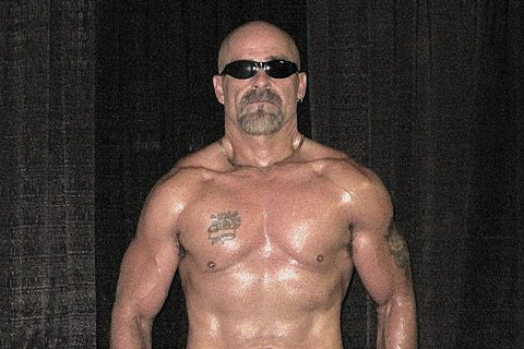 This 52-year-old ripped rocker and built baller has earned the right to wear his shades indoors.