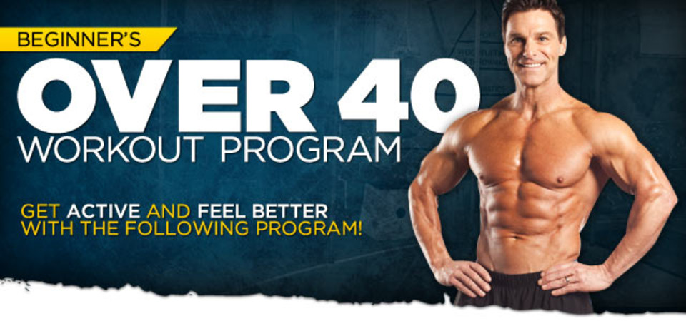 Beginner's Over 40 Workout Program: Take Action To Look ...