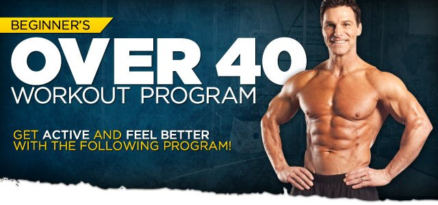 Beginner s over 40 workout program take action to look amp feel better