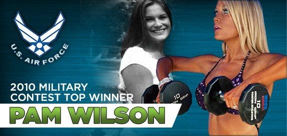 2010 Military Challenge Top Winner Pam Wilson