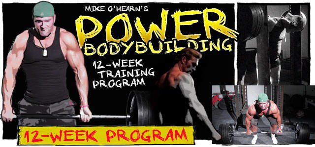 Mike O'Hearn's Power Bodybuilding: The 12-Week Program