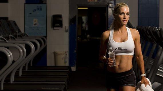 Cardio Queen: She breaks a sweat, it breaks your heart.