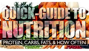 Quick Nutrition Guide