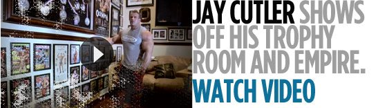 Jay Cutler Interview