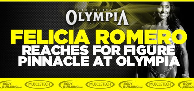 Romero Reaches For Figure Pinnacle At Olympia